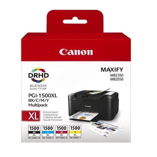 Canon PGI-1500XL CMYK Ink Cartridge Multipack 9182B004