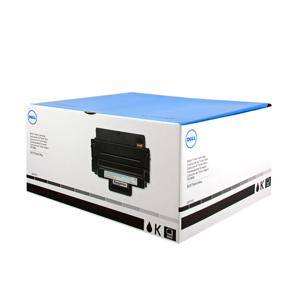 Dell 593-BBBI Black Toner Cartridge - 593-BBBP