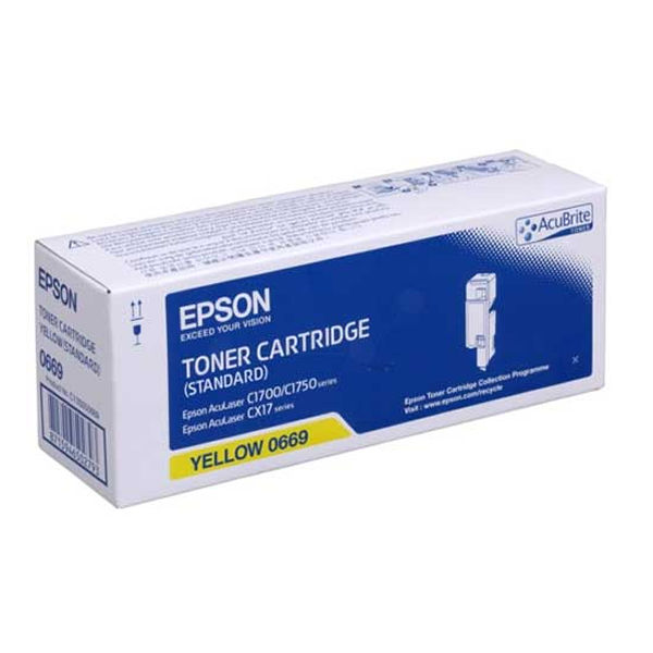 Epson S050669 Yellow Toner Cartridge C13S050669 / S050669