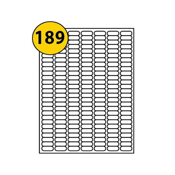 Avery Heavy Duty Silver Address Labels 25.4 x 10mm (Pack of 3780) - L6008-20