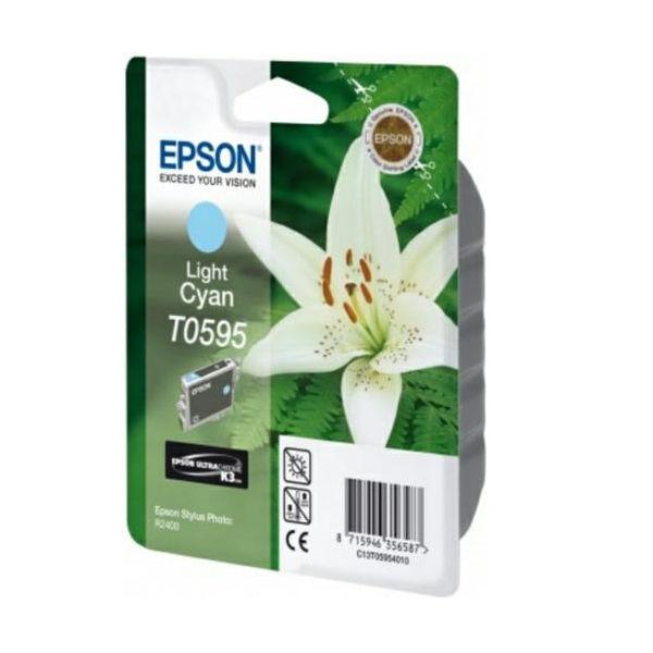 Epson T0595 Light Cyan Ink Cartridge - C13T05954010