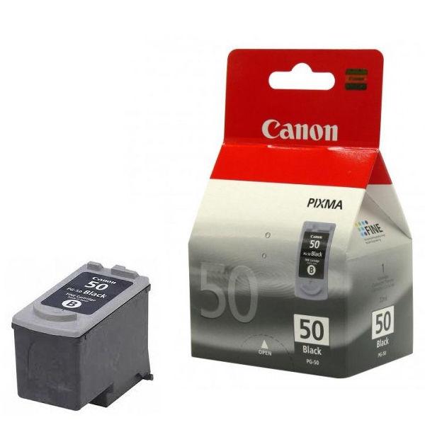 Canon PG-50 Black Ink Cartridge - High Capacity 0616B001