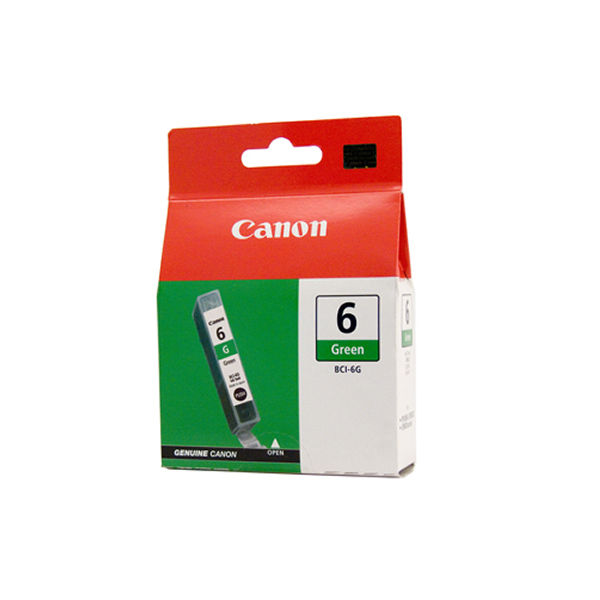 Canon BCI-6G Green Ink Tank Cartridge - 9473A002