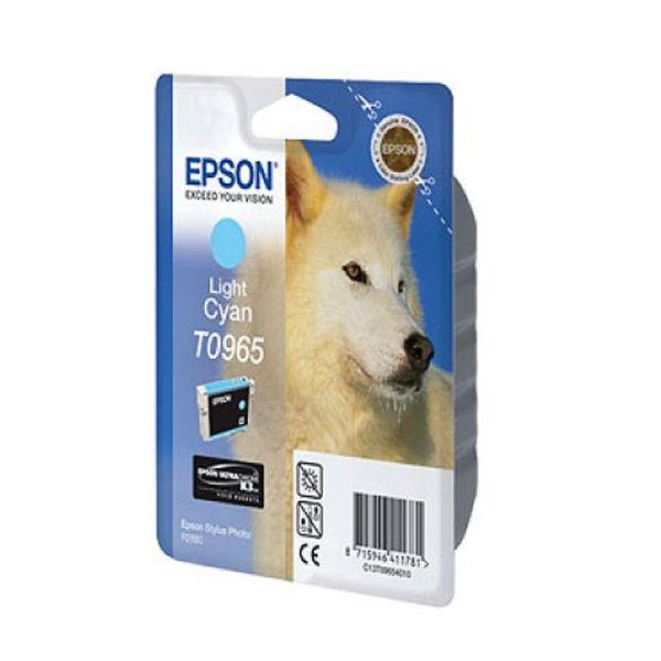 Epson T0965 Light Cyan Inkjet Cartridge C13T09654010 / T0965