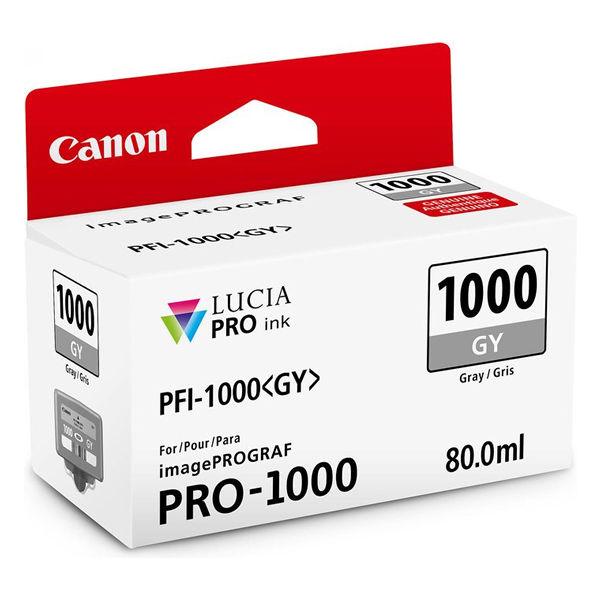Canon PFI-1000GY Grey Ink Cartridge - PFI-1000 GY