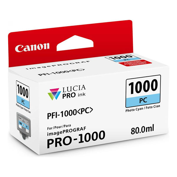 Canon Pro-1000 Photo Cyan Ink Tank 0550C001