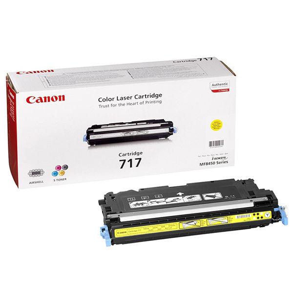 Canon 717 Yellow Laser Toner Cartridge - 2575B002