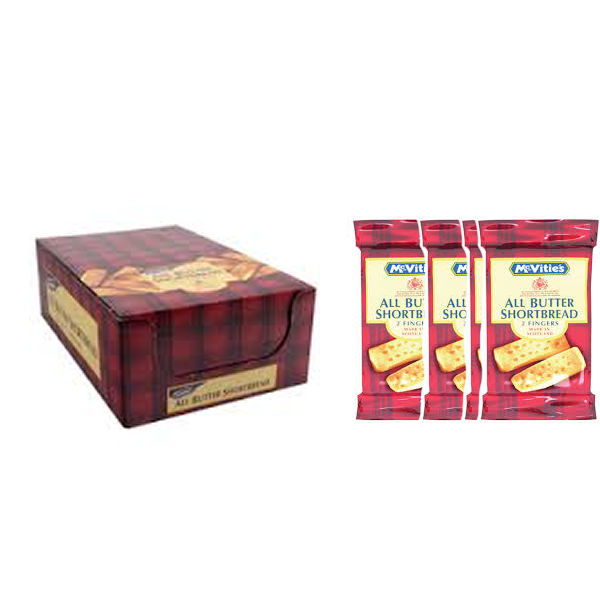 McVities All Butter Shortbread, Pack of 48 - 71482