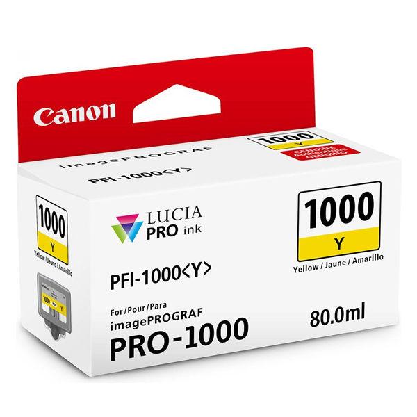 Canon PFI-1000Y Yellow Ink Cartridge - PFI-1000 Y