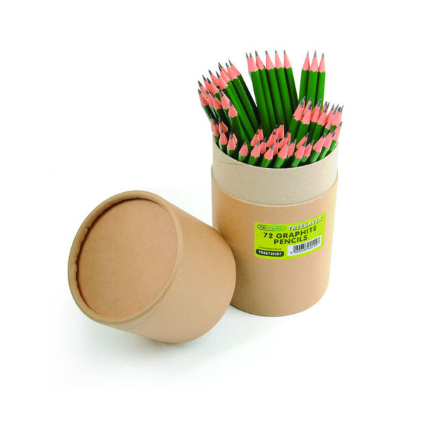 Re:Create Treesaver Recycled HB Pencils, Pack of 72 - TREE72HBT