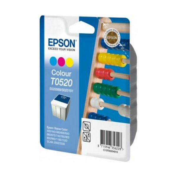 Epson T0520 Tri Colour Ink Cartridge - C13T05204010