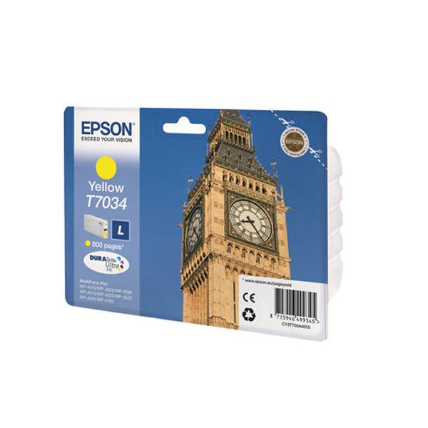 Epson T7034 Yellow Ink Cartridge - C13T70344010