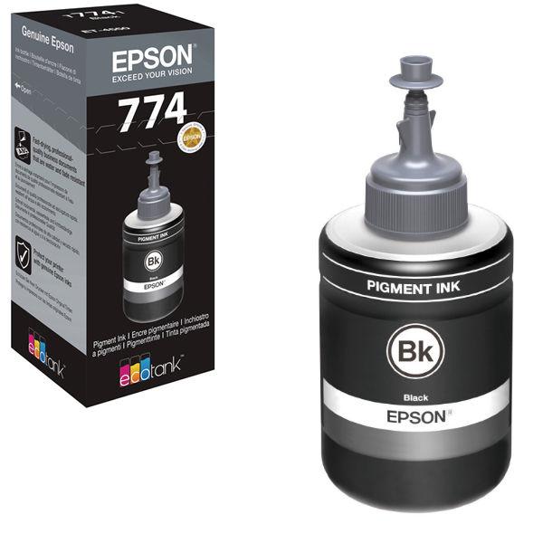 Epson T7741 Pigment Black Ink Bottle - C13T774140