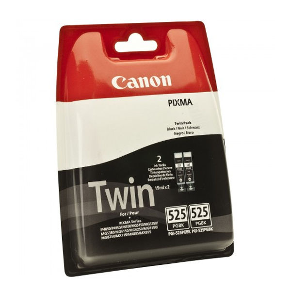 Canon PGI-525 Black Ink Twin Pack | PGI-525 PGBK