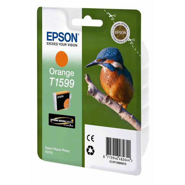 Epson T1599 Orange Ink Cartridge - C13T15994010