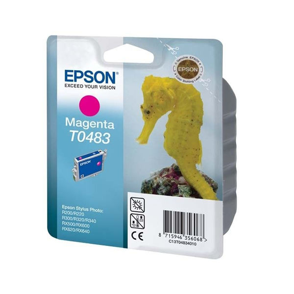 Epson T0483 Magenta Ink Cartridge - C13T04834010