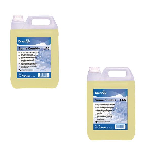 Diversey 5L Suma Combi+ Dishwashing Detergent (Pack of 2) – 101101254