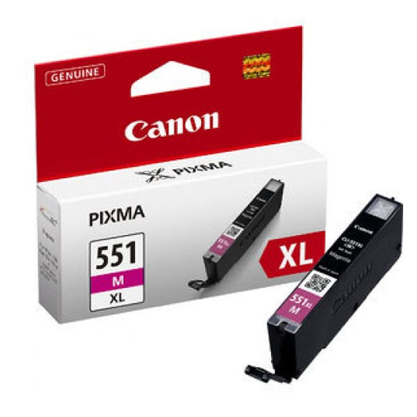 Canon CLI-551M XL High Capacity Magenta Ink Cartridge - CLI-551XL M