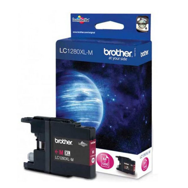 Brother LC-1280 Magenta High Yield Ink Cartridge - LC1280XLM
