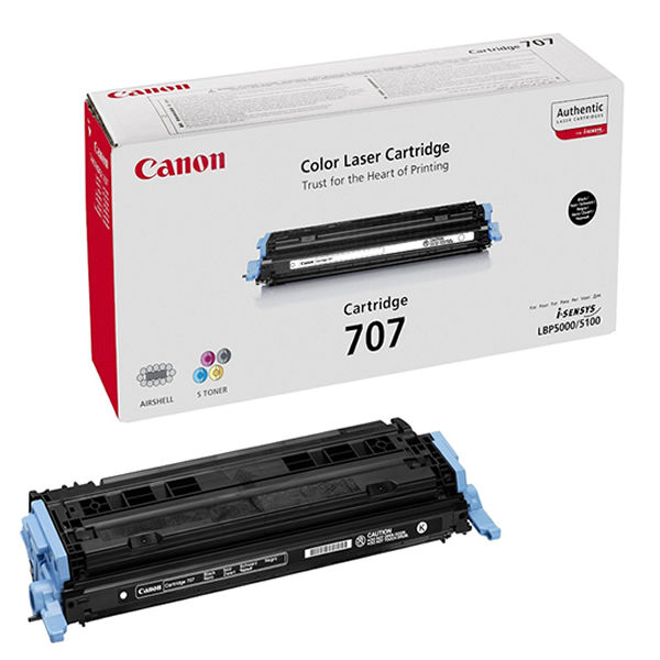 Canon 707BK Black Toner Cartridge 9424A004