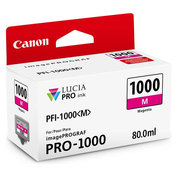 Canon PFI-1000M Magenta Ink Cartridge - PFI-1000 M