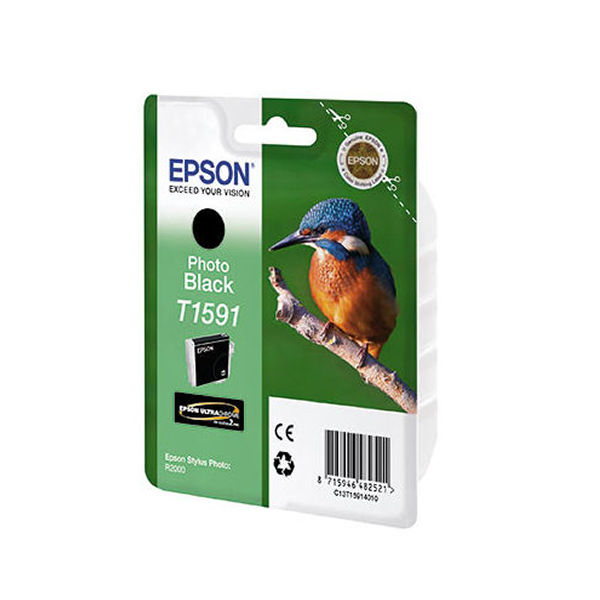 Epson T1591 Photo Black Ink Cartridge - C13T15914010