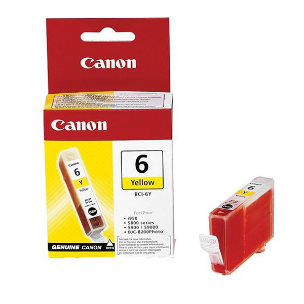 Canon BCI-6Y Yellow Ink Cartridge - 4708A002