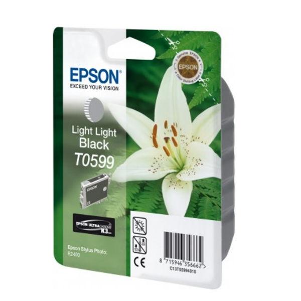 Epson T0599 Light Light Black Inkjet Cartridge C13T05994010 / T0599