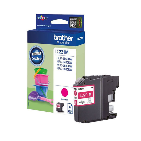 Brother LC221M Magenta Ink Cartridge