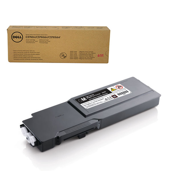 Dell C37XX Magenta Toner Cartridge - High Capacity 593-11117