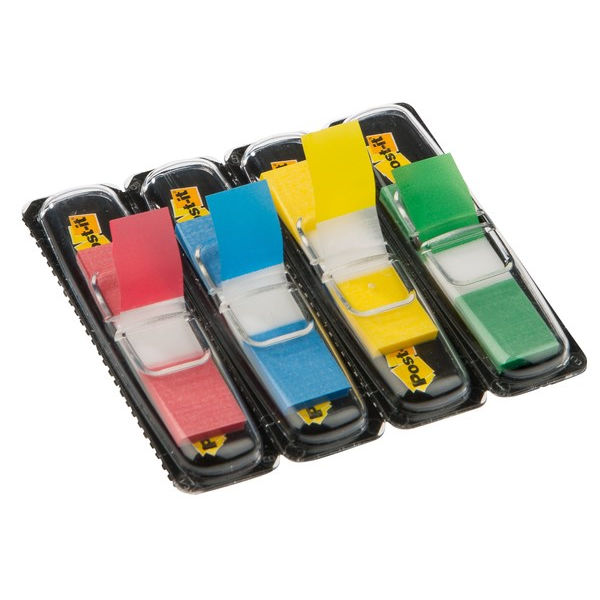 Post-it Small 12mm Assorted Index Markers - 683-4