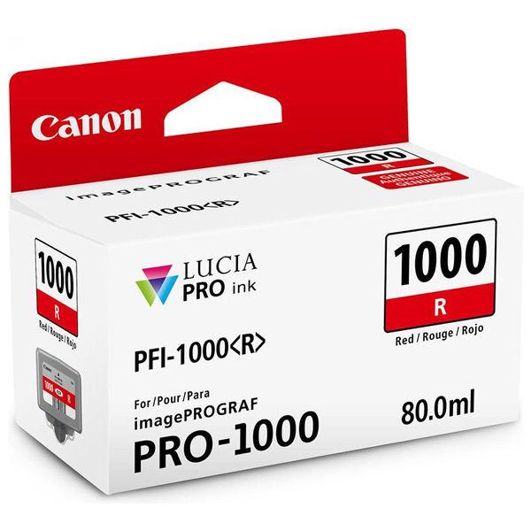 Canon PFI-1000R Red Ink Cartridge - PFI-1000 R
