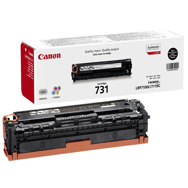 Canon 731Y Yellow Toner Cartridge - 6269B002