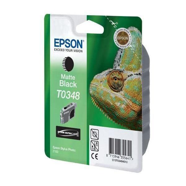 Epson T0348 Matte Black Ink Cartridge - C13T03484010