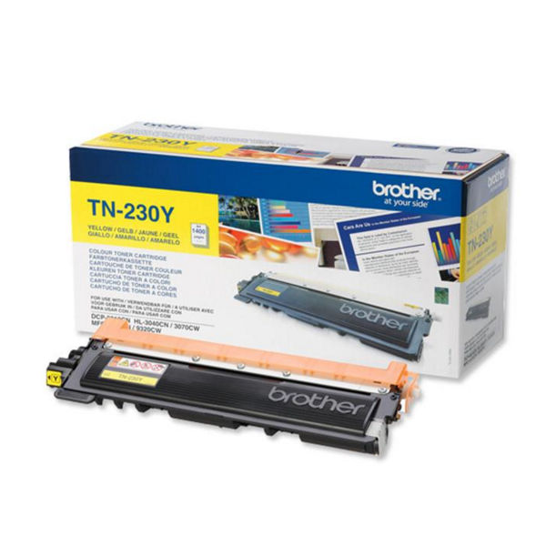 Brother TN-230Y Yellow Toner Cartridge - TN230Y