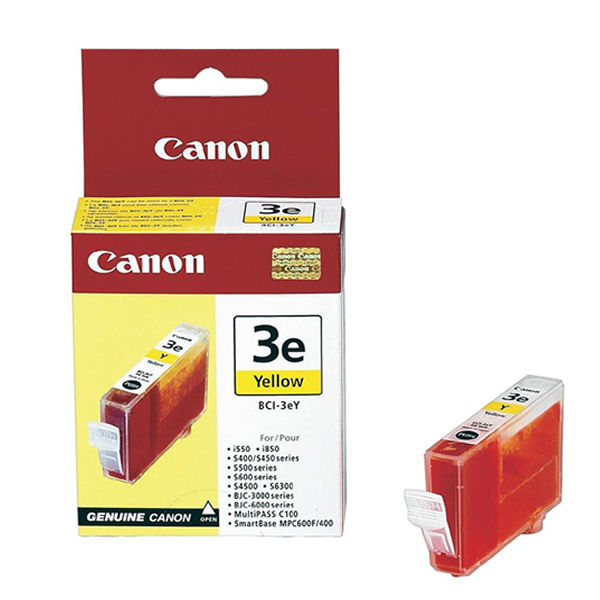 Canon BCI-3EY Yellow Ink Tank Cartridge - 4482A244