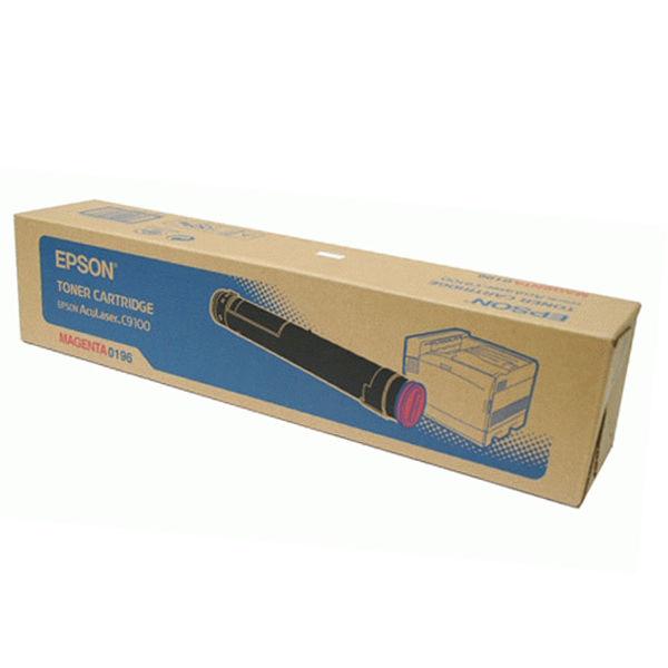 Epson C9100 Magenta Toner Cartridge - C13S050196
