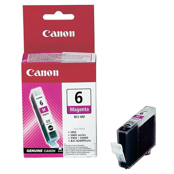 Canon BCI-6M Magenta Ink Cartridge - 4707A002
