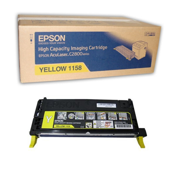 Epson C2800 Yellow Toner Cartridge - High Capacity C13S051158