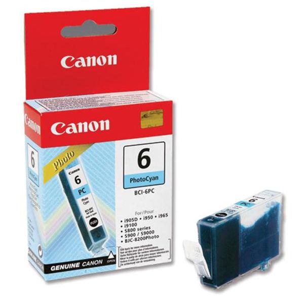 Canon BCI-6PC Photo Cyan Ink Tank Cartridge - 4709A002