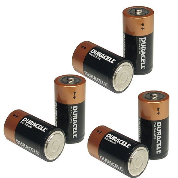 Duracell D Plus Power Batteries, Pack of 6 - 81275448