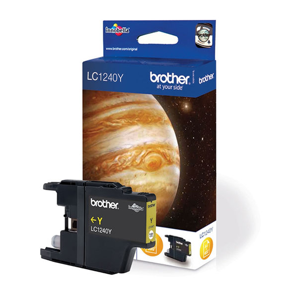 Brother LC1240Y Yellow Ink Cartridge - LC1240Y