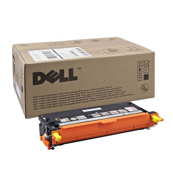 Dell 3130Cn Yellow Toner Cartridge - High Capacity 593-10291