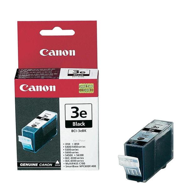 Canon BCI-3eBK Black Ink Cartridge - 4479A002