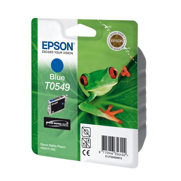 Epson T0549 Blue Ink Cartridge - C13T05494010