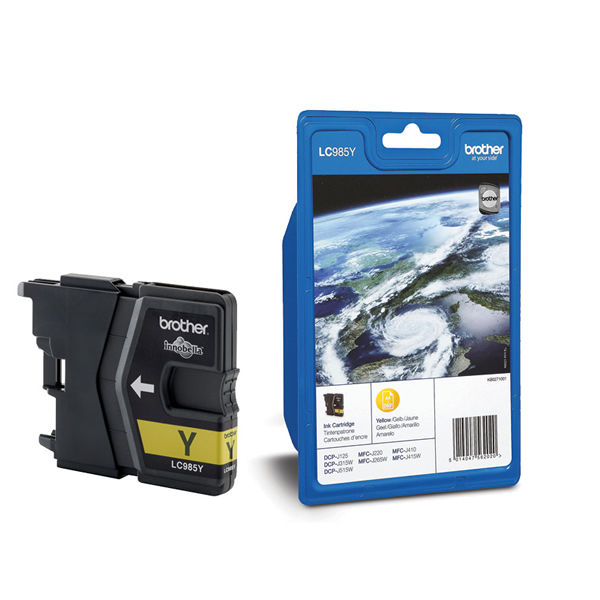 Brother LC985Y Yellow Ink Cartridge - LC985Y
