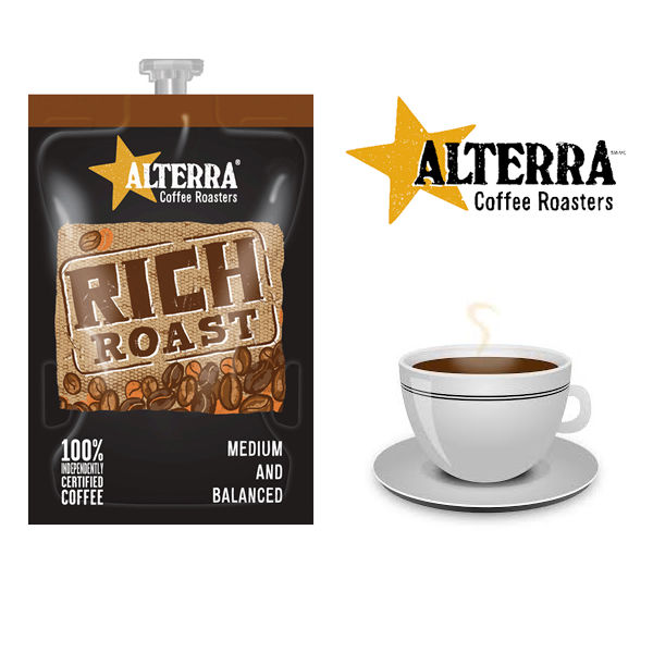 Flavia Alterra Rich Roast Sachets (Pack of 100) NWT358