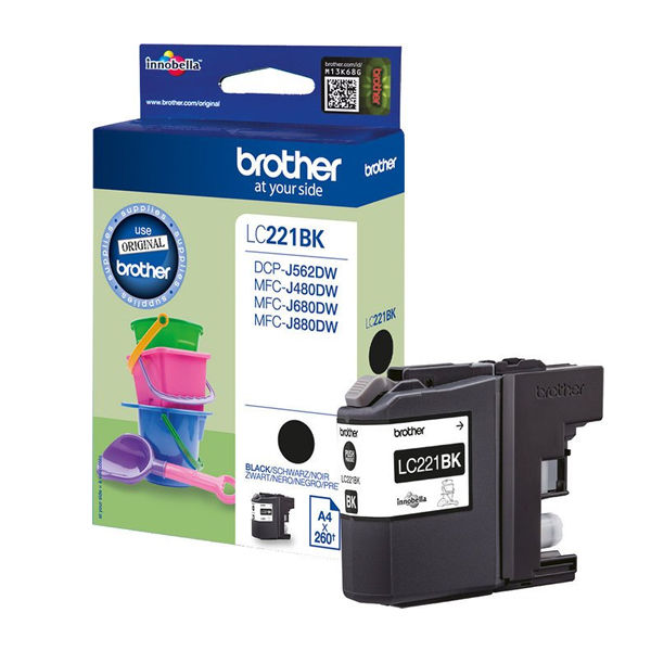 Brother LC221 Black Ink Cartridge - LC221BK
