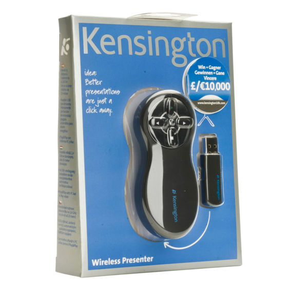 Kensington Wireless Non Laser Presentation Remote - K33373EU