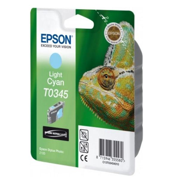 Epson T0345 Light Cyan Ink Cartridge - C13T03454010